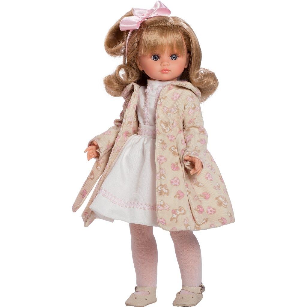 Luxusná detská bábika-dievčatko Berbesa Flora 42cm