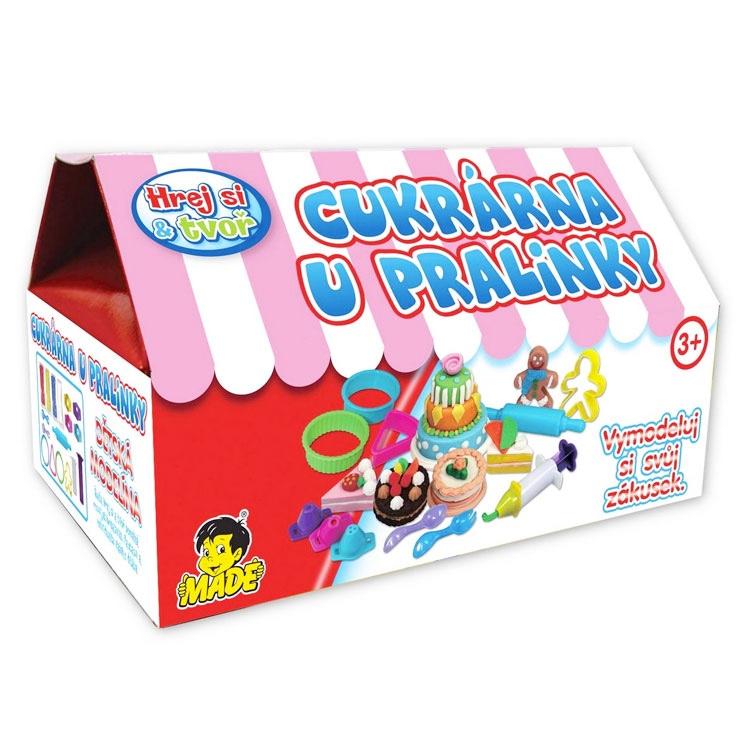 Plastelína Cukráreň u Pralinky