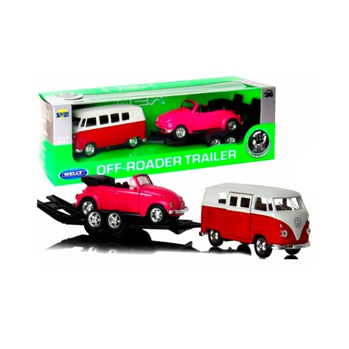 1:34 Volkswagen T1 BUS + VW THE BEETLE
