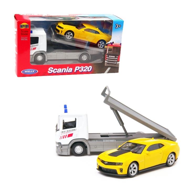 1:57 Scania P320 + 1:43 model METAL
