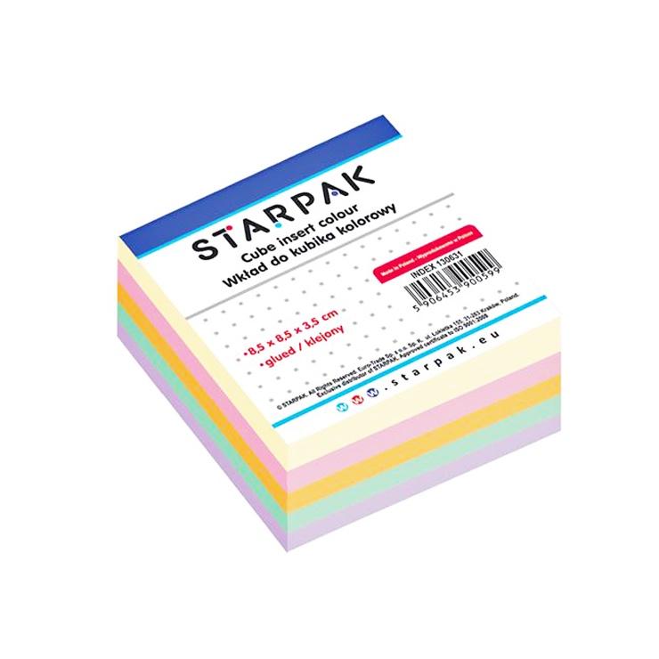 Blok farebných papierikov na poznámky