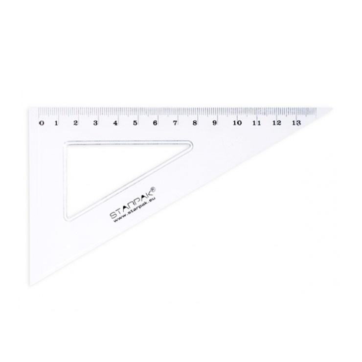 Pravítko Trojuholník 13cm
