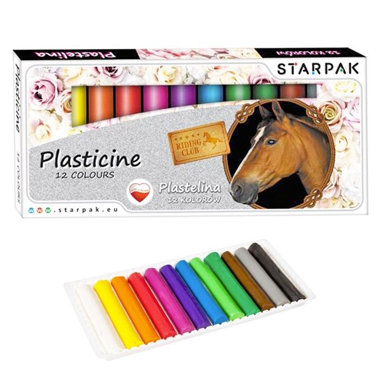 Plastelína kone 12 farieb