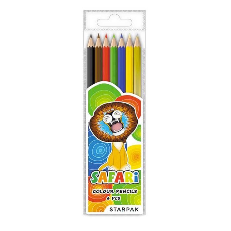 Farebné ceruzky 6ks