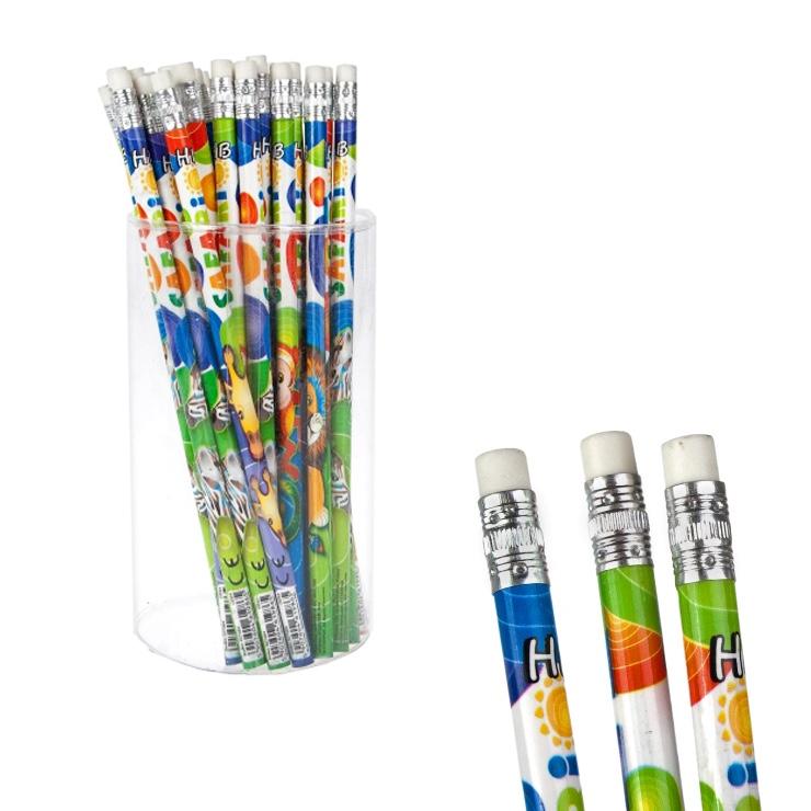 Ceruzka s gumou Safari