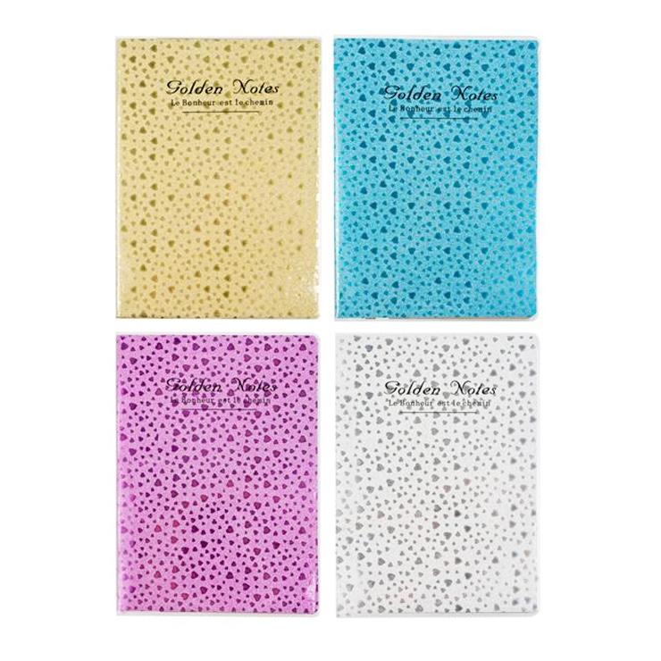 Zápisník - 4 farby