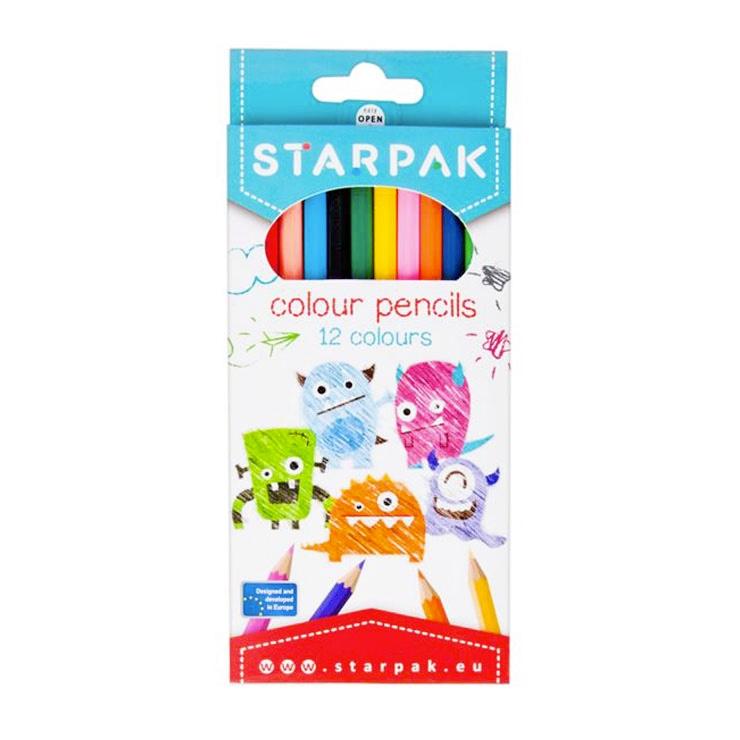 Farebné Ceruzky 12ks