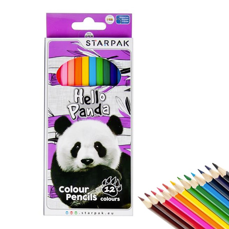 Pastelky Hello Panda