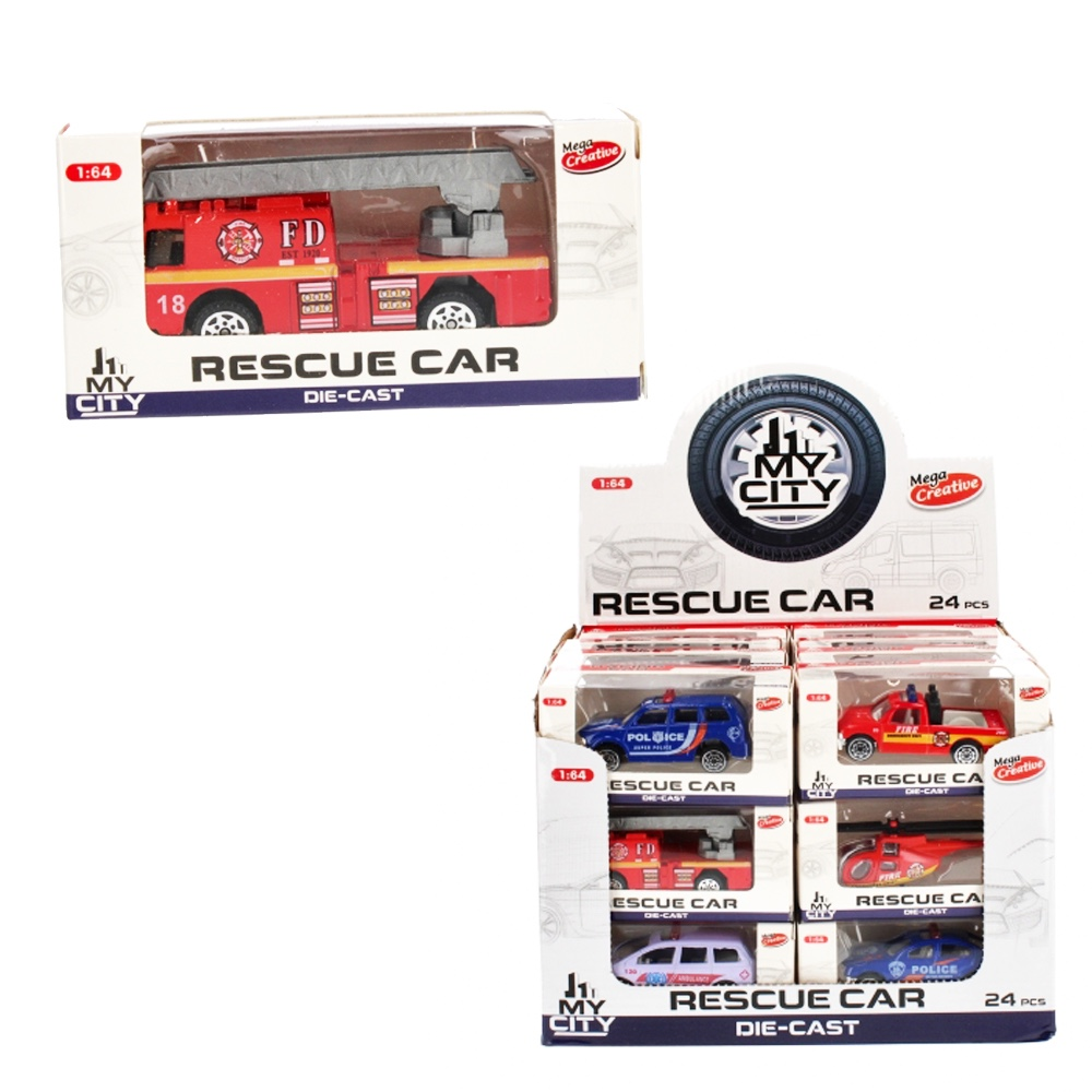 1:64 Záchranárske vozidlo, kovové