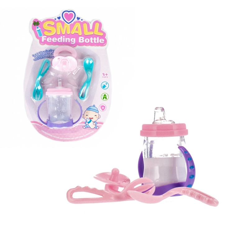 Fľaša a doplnky pre bábiku