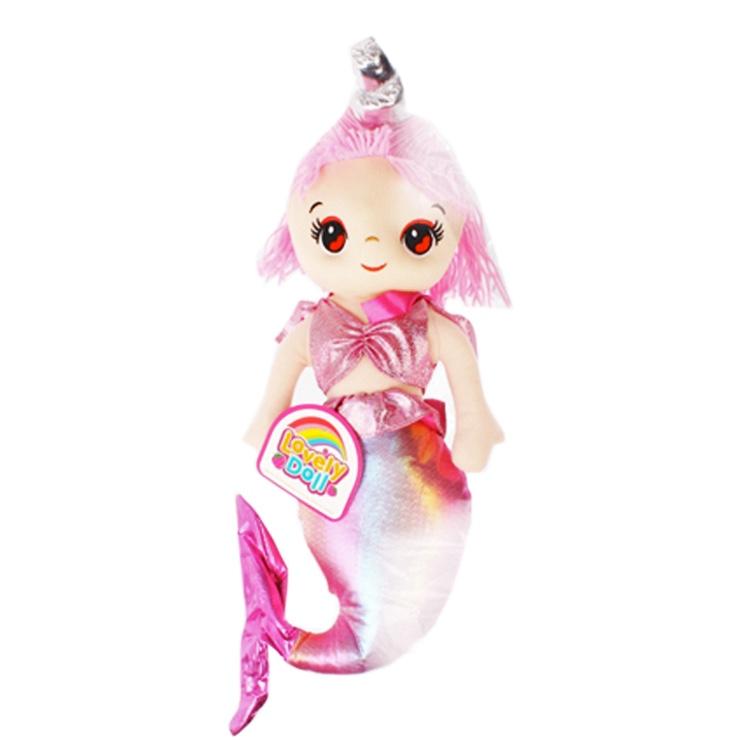Bábika morská panna - jednorožec