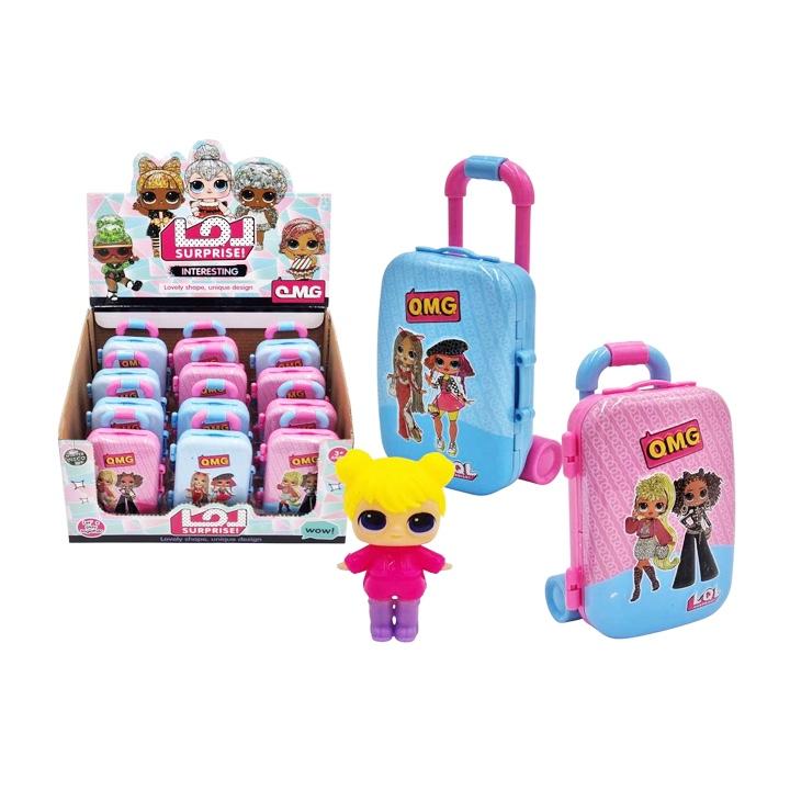 Bábika v kufríku