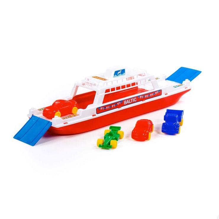 Trajekt loď so 4 mini autíčkami
